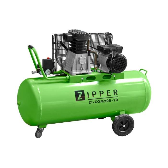 Компресор ZIPPER ZI-COM200-10 / 2.2 kW, 200 l, 10 bar