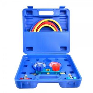 Комплект манометри за зареждане на фреон GEKO G02670
