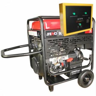 Бензинов Генератор SENCI SC-13000 EVO ATS