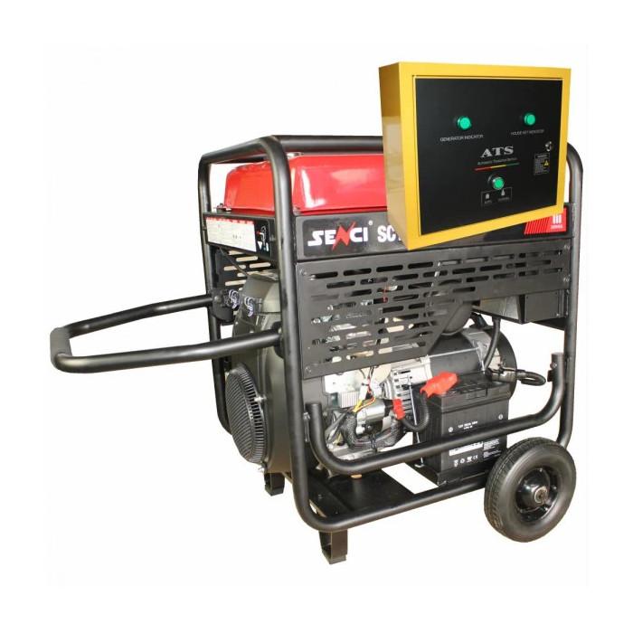 Бензинов Генератор SENCI SC-13000 EVO с ATS опция