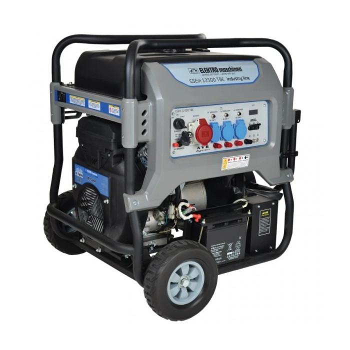 Бензинов генератор ELEKTRO maschinen GSEm 12500 TBE 19.5hp