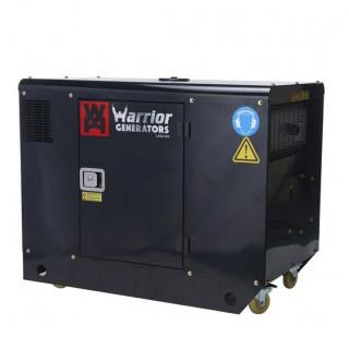 Безшумен трифазен дизелов генератор 12 kW WARRIOR LDG12S3