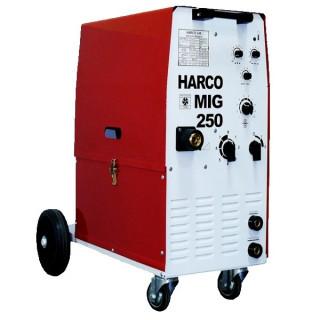 Телоподаващ заваръчен апарат HARCO MIG 250 / 3x380V
