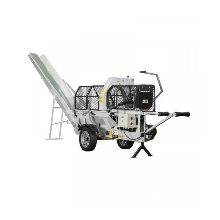 Машина за рязане и цепене на дърва LUMAG SSA 400E-OF