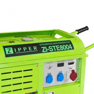 Бензинов трифазен генератор ZIPPER ZI-STE8004 / 10 kW