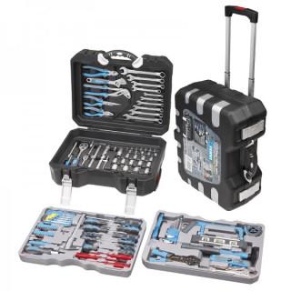 Комплект гедоре и инструменти с тресчотка Fervi 0165