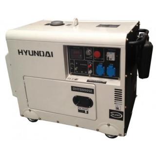 Дизелов монофазен генератор с ел.стартер Hyundai DHY 8500SE