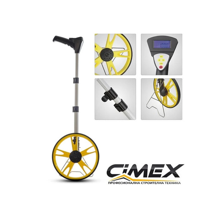 Измервателно колело Cimex DMW100 - до 99999,9 м.