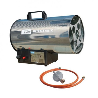 Газов отоплител GÜDE GGH 10 INOX / 10 kW / 0.73 кг/ч