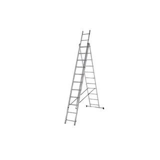 Алуминиева три секторна стълба 3х11