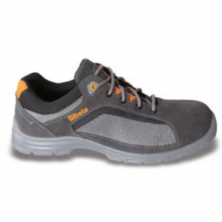 Велурени обувки с мрежести вложки 7213FG Beta Tools №35-48