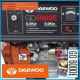 Бензинов генератор за ток Daewoo GD6000E 5kW/ 5.5kW