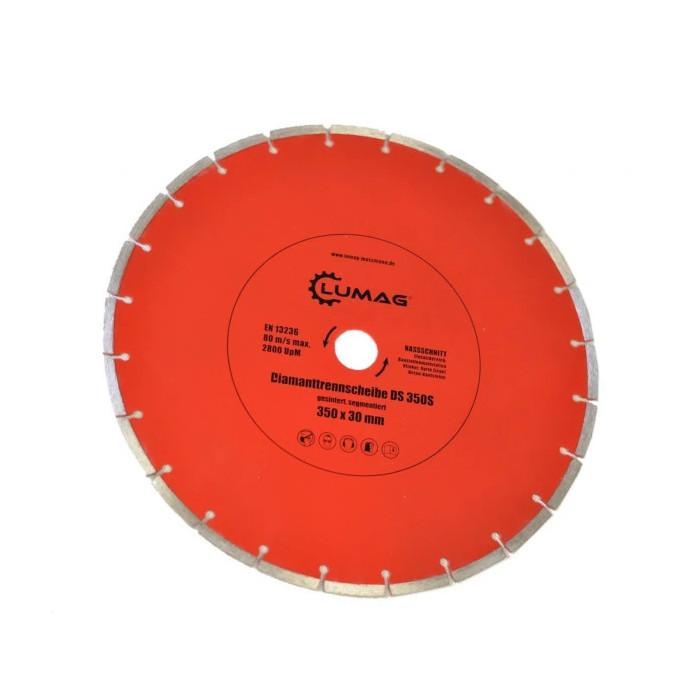 Диамантен диск за строителни материали LUMAG DS350S / 350 мм