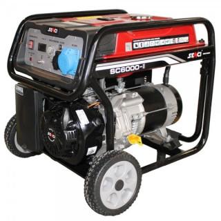 Бензинов генератор монофазен SENCI Senci SC-6000E