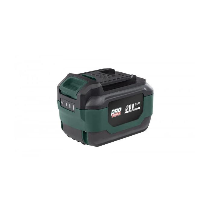 Акумулаторна батерия POWER PLUS POWPB90300 / 20V, 6.0Ah, Samsung