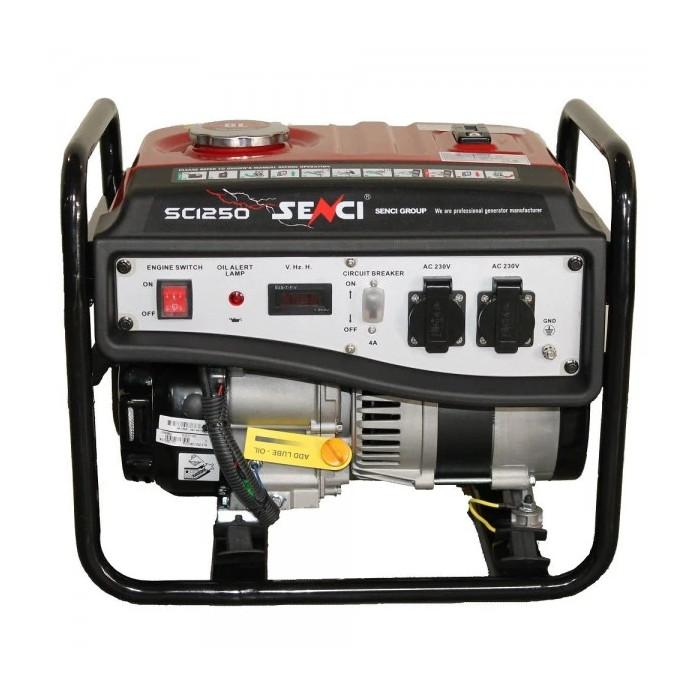 Бензинов генератор Senci SC-1250 / 1.0 KW, AVR