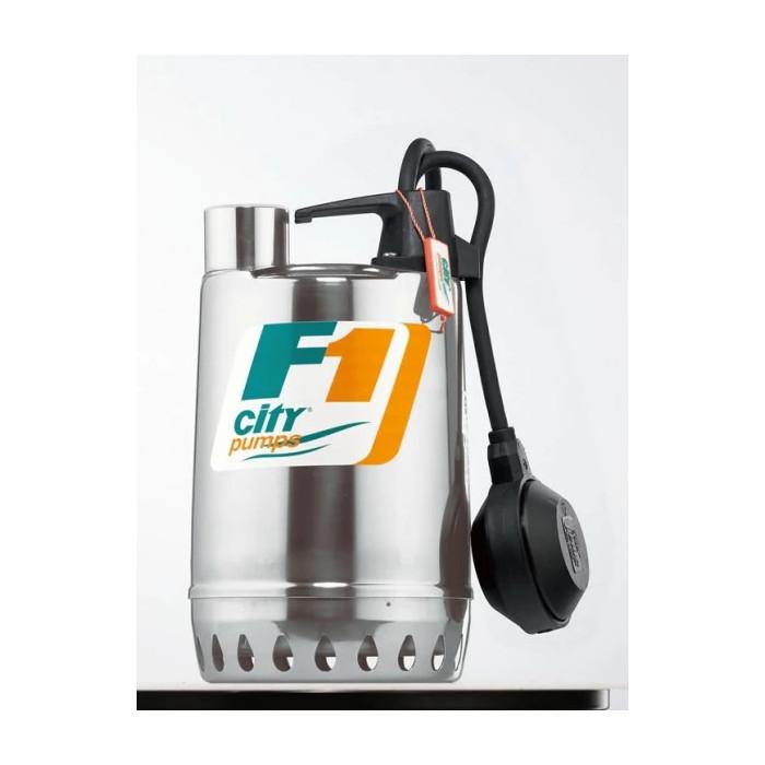 Дренажна помпа F1/30M, CITY, Q: 1.2 – 8.4 m³/h, 20 – 140 l / min