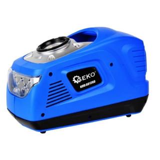 Мини компресор с LED фенер и манометър GEKO G01260