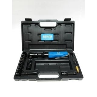 Пневматична тресчотка комплект с накрайници BAMAX