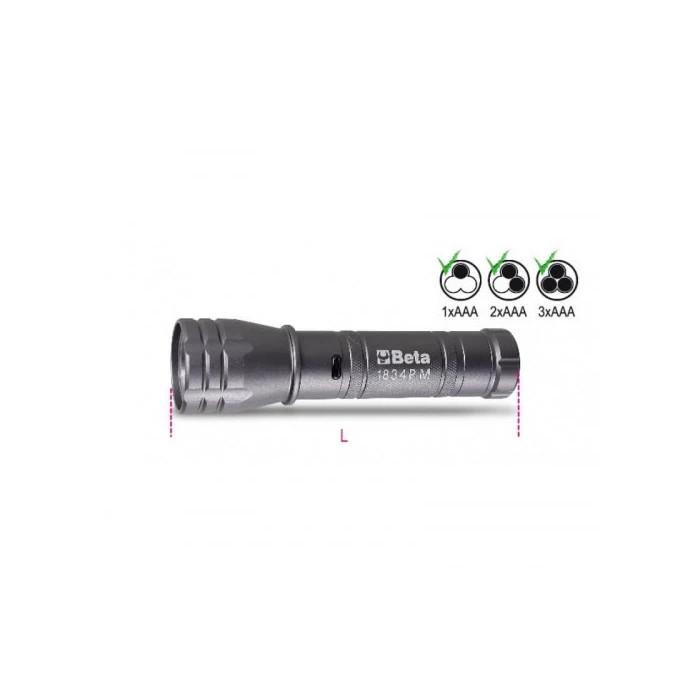 Високояркостен LED фенер 1834PM Beta Tools