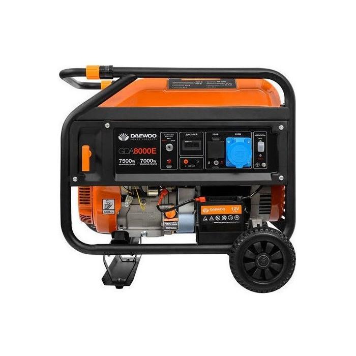 Бензинов генератор за ток Daewoo GDA8000E 6.7 kW/ 7.5 kW