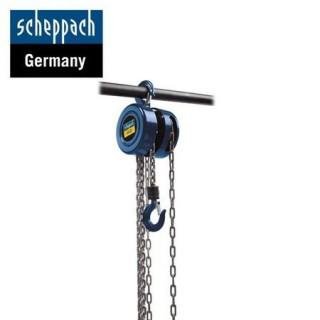 Верижна лебедка Scheppach CB02 / 2 тона