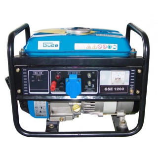 Бензинов генератор GÜDE GSE 1200 4T / 2kW, 0.75 л/ч