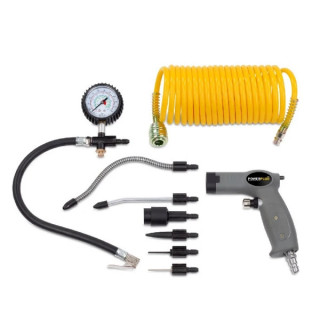 Пневматични инструменти POWER PLUS POWAIR0022 / комплект 9 части