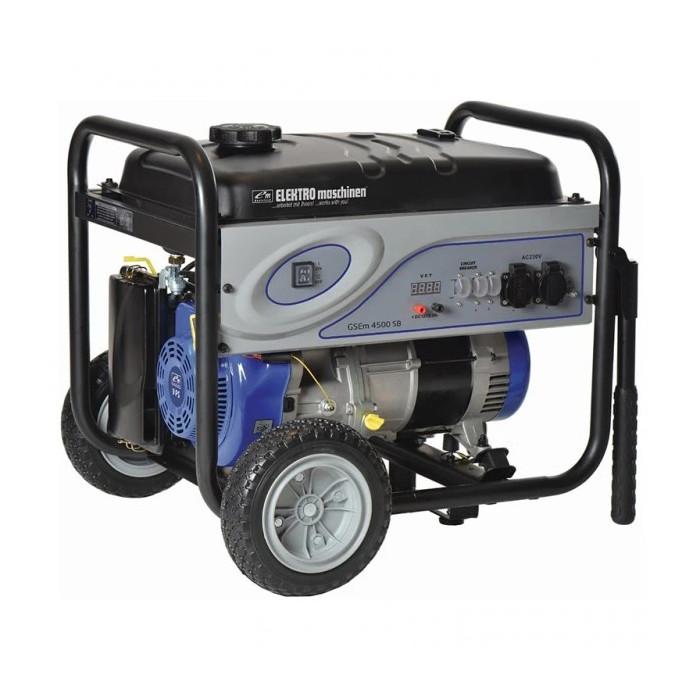 Бензинов генератор ELEKTRO maschinen GSEm 4500 SB 9hp