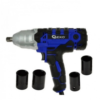 Електрически ударен гайковерт Geko G81053