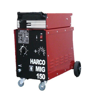Телоподаващ заваръчен апарат HARCO MIG 150 / 220V