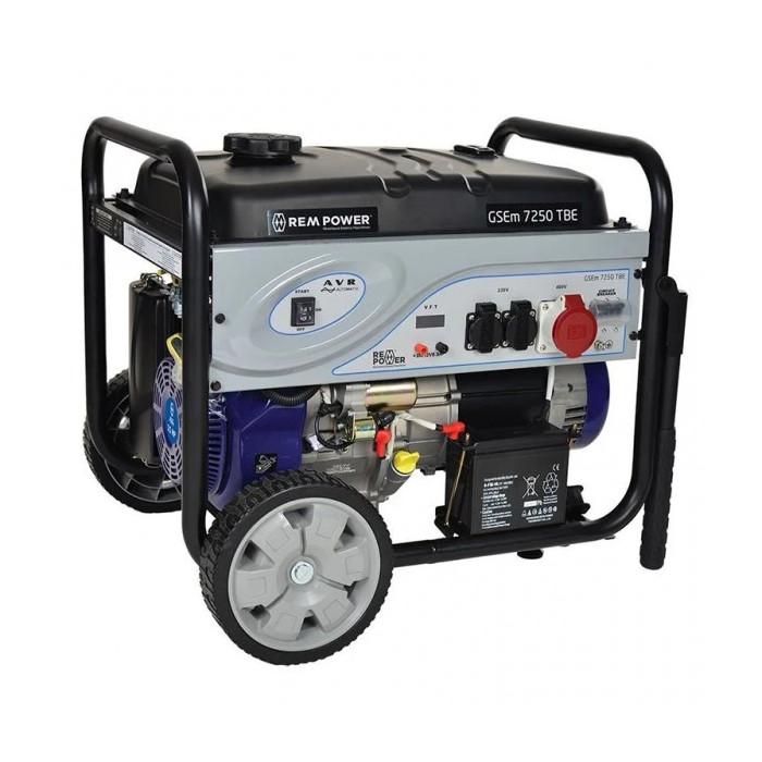 Бензинов генератор ELEKTRO maschinen GSEm 7250 TBE 15hp