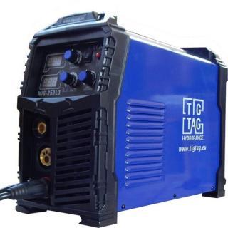 Телоподаващ апарат комбиниран 3 в 1 с комплект за заваряване TIG TAG MIG250L3L