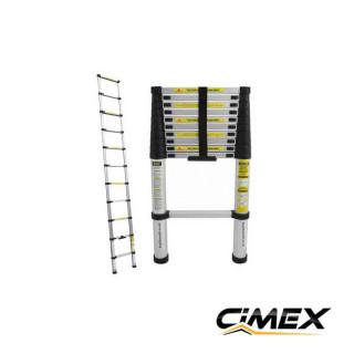 Алуминиева телескопична стълба CIMEX DLT210B, 3.2 м