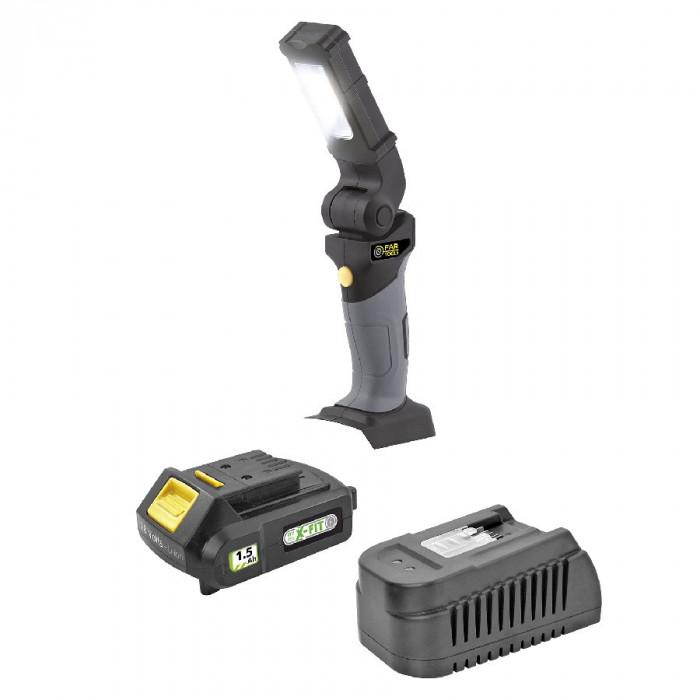 Акумулаторна лампа FARTOOLS KIT XF-LIGHT / 18 V, 1.5 Ah
