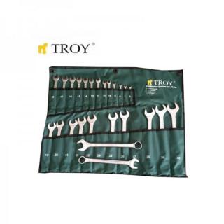 Комплект звездогаечни ключове TROY 21525 / 6-32 мм / 25 части