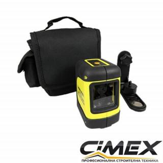 Самонивелиращ лазерен нивелир с кръстосани линии CIMEX SL10 Basic