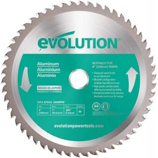 Диск за рязане на алуминий EVOLUTION 230 mm