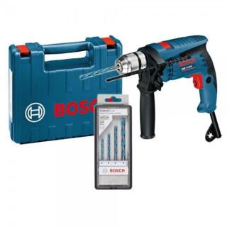 Ударна бормашина Bosch GSB 13 RE 600 W   / с куфар и бургии