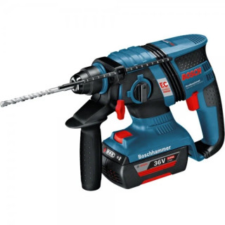 Акумулаторен перфоратор Bosch GBH 36 V-Li 2 х 2,0Ah L-Boxx