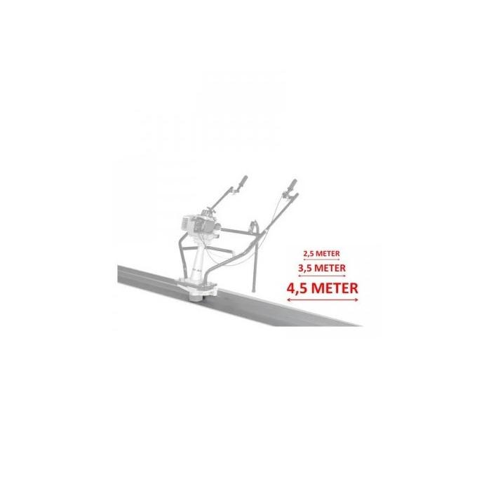 Дъска за вибромастар за бетон 350 cm LUMAG 5PL350