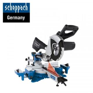 Потапящ циркуляр с лазер и изтегляне Scheppach HM100MP