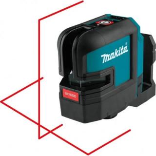 Нивелир лазерен линеен с 3 лъча Makita SK105DZ