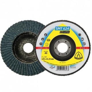 Ламелен диск за метали KLINGSPOR SMT 624 - P120 115х22мм