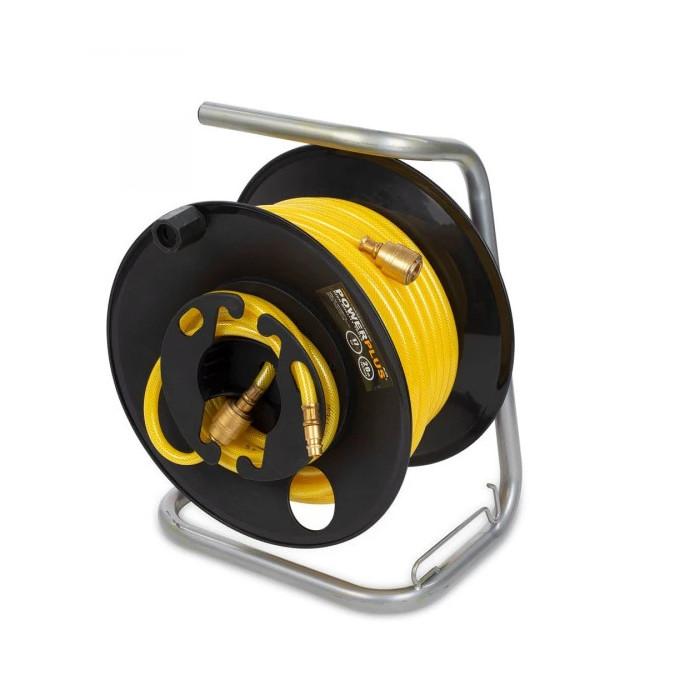 Макара за въздушен маркуч Powerplus POWAIR0210 / 20м