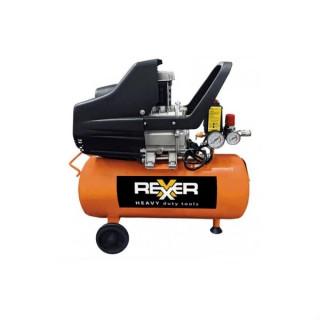Маслен компресор за въздух Rexxer RH 13-502 /  24л. / 1.5 к.с