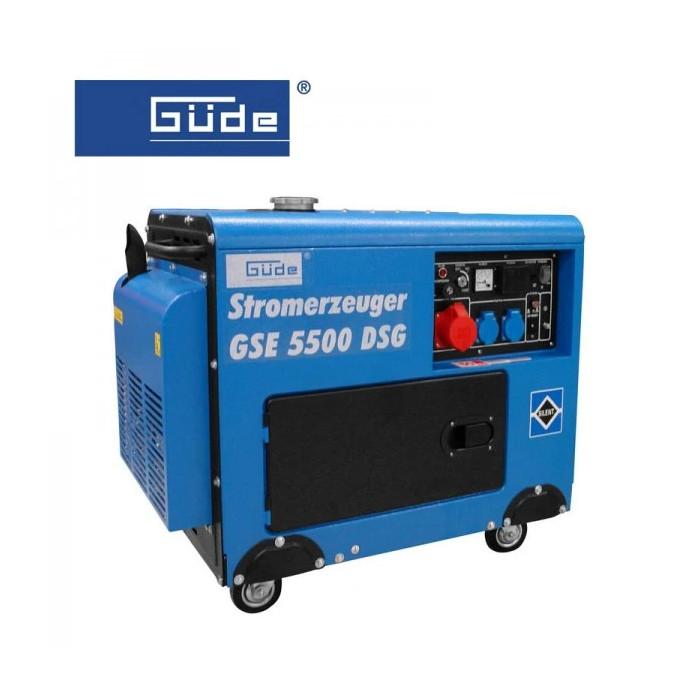 Дизелов трифазен генератор GÜDE GSE 5500 DSG / 10 к.с.