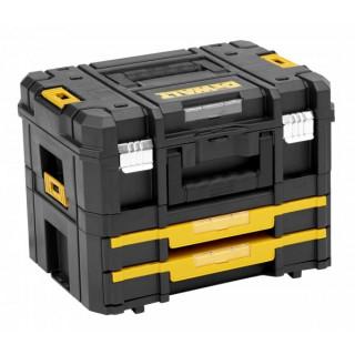 Комплект куфар с 2 чекмеджета DEWALT DWST1-70706 / T STAK IV h