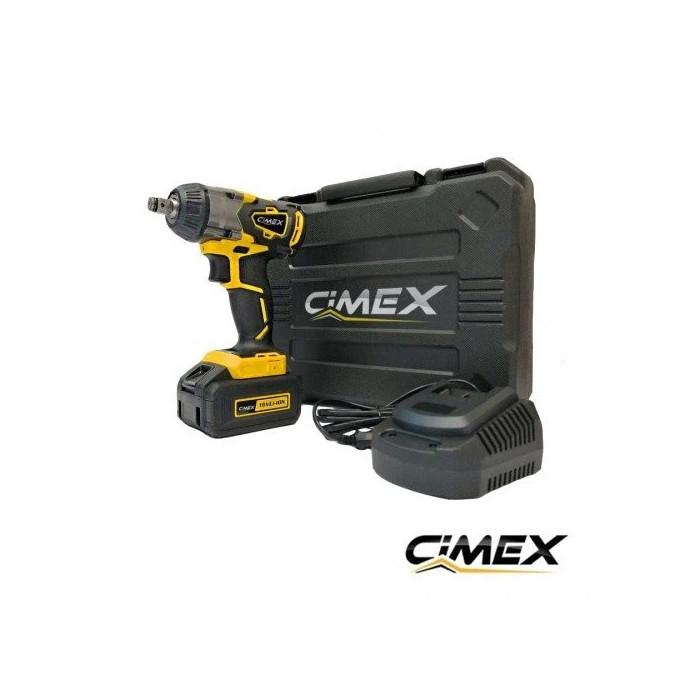 Акумулаторен гайковерт CIMEX CW18V350NM-B