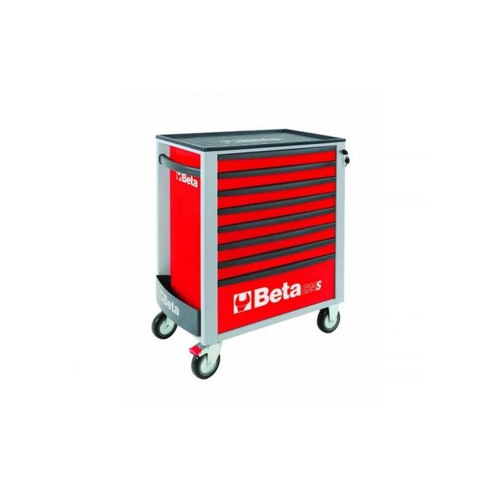 Количка за инструменти BETA 2400S-R8/E-XL-8 чекмеджета 384бр
